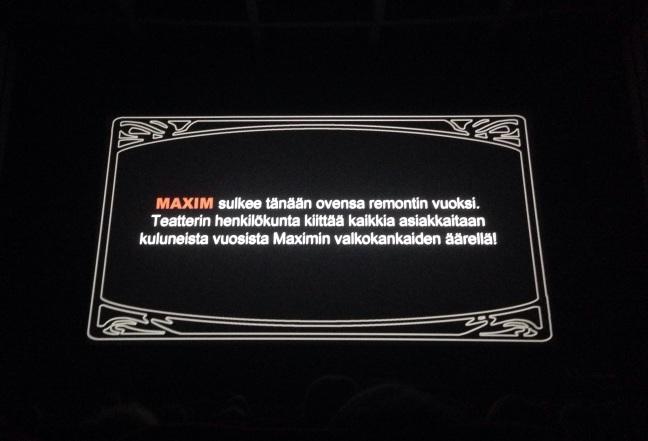 Maxim / ©Siru Valleala
