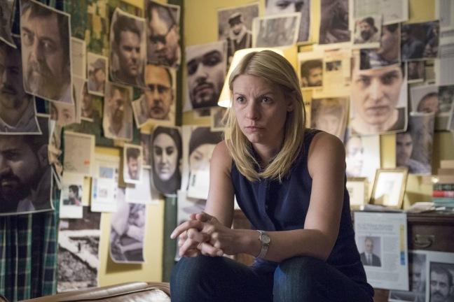 Claire Danes on kivisen tien kulkenut Carrie Mathison. Kuva: Stephan Rabold/SHOWTIME
